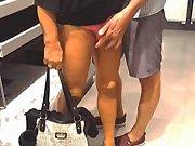 française - Ma femme fait la salope au supermarché