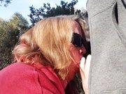 Madame aime sucer des inconnus dans les parcs
