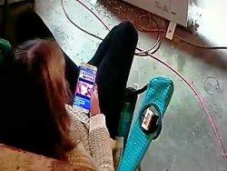 masturbation - Ma copine se caresse la chatte en regardant un porno